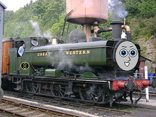 CrazyTeddyX the GWR Engine