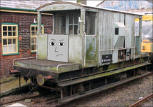 BabyBurton the Spiteful Brakevan