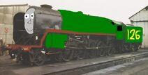Milo the big green engine