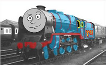 Thomas the tank engine tomy the blue engine by thomas fan collector de1v962