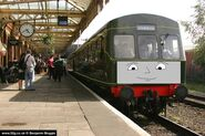 Anson06 the diesel rail-car