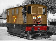 Leeclaxton the tram engine
