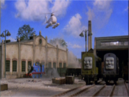 The magic railroad (harold's cameo)