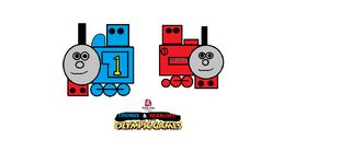 Thomas & Skarloey At The Olympic Games