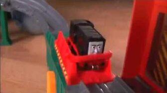 Fisher Price Thomas & Friends Take n Play The Diesel Works Playset