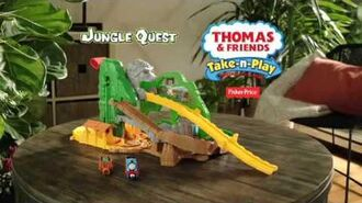 Take-n-Play Jungle Quest UK commercial
