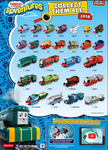 Thomas /& Friends Adventures SPECIAL EDITION RAINBOW Thomas Metal Engine NEW
