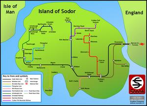Map Of Sodor
