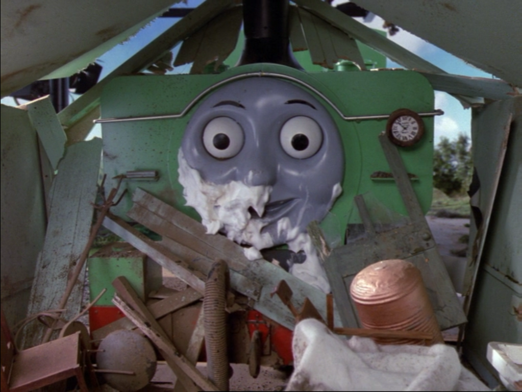 Thomas and Friends: The Close Shave (Thomas & Friends) Summary