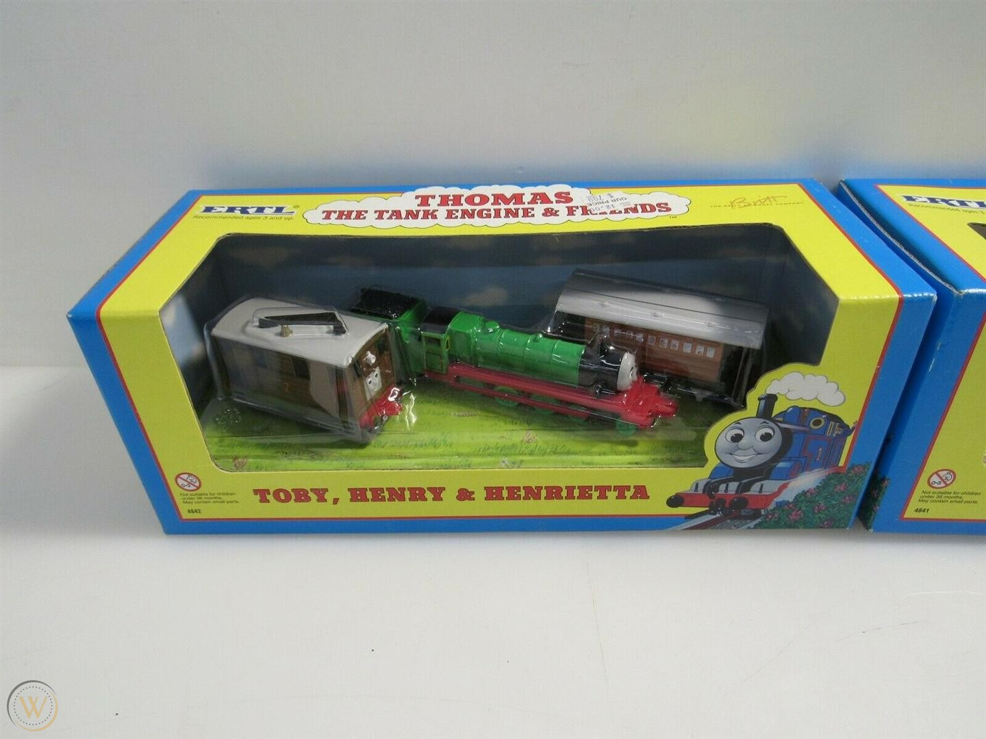 Toby, Henry and Henrietta