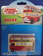 Ertl---thomas-the-tank-engine- -friends---bulgy-railway-bus---collector-card-no.-27---n a---101gm---7.5cm 1