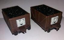 ERTL Brown Troublesome Trucks