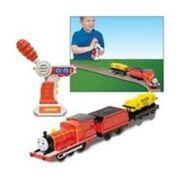 Trackmaster James with Fuel Tanker