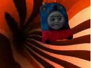Thomas re'enters a portal