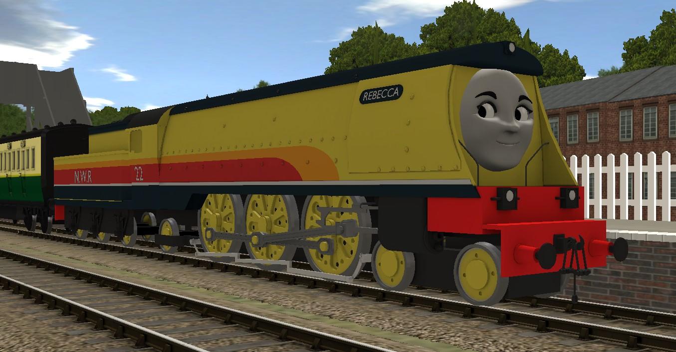 Rebecca | Thomas:The Trainz Adventures Wiki | FANDOM powered by Wikia