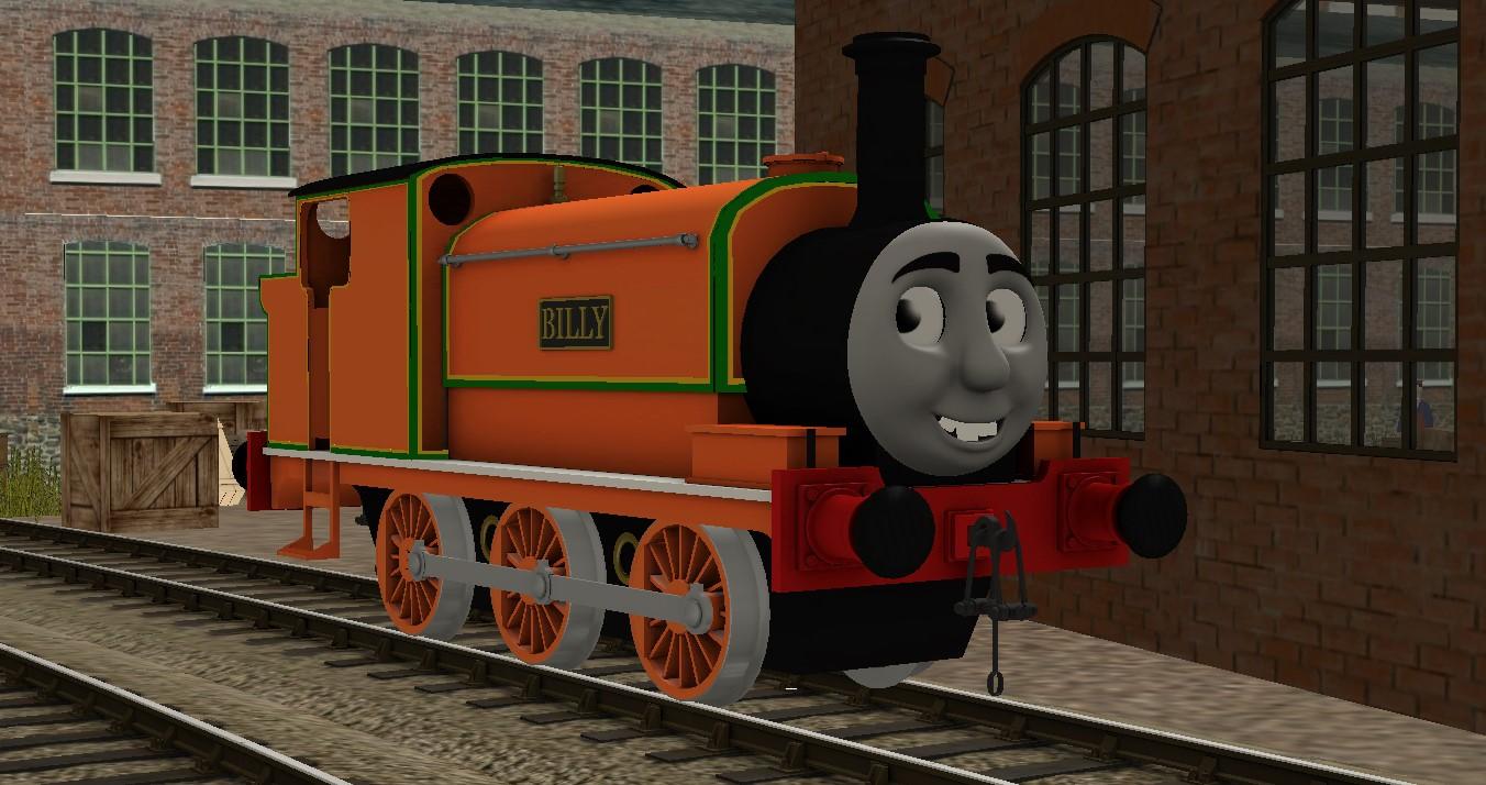 Edward the really useful engine trainz