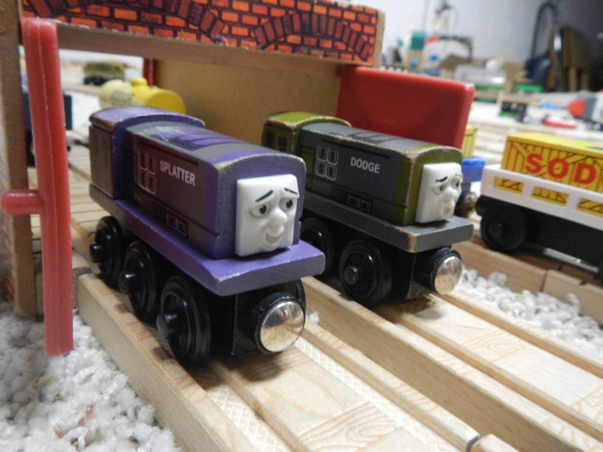 Thomas The Wooden Tank Engine And
