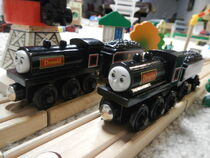Donald And Douglas Thomas The Wooden Tank Engine And Friends Wiki