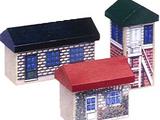 Set of 3 Buildings