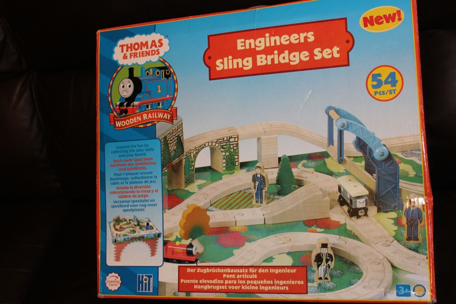 Engineeru0027s Sling Bridge Set | Thomas Wood Wikia | FANDOM powered by Wikia : thomas wooden train table set - pezcame.com