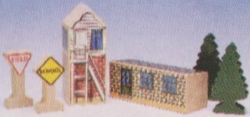 1994 2Signs,2 Houses,2 TreesPrototype