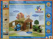 Thomas and Friends Wooden Railway Toy set - Haunted Mine Tunnel Percy the tank engine toy box back-1-