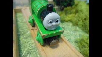 Thomas Wooden Remake Duck Takes Charge