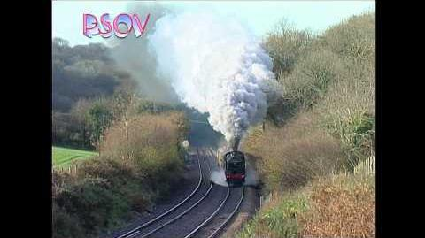 City of Truro on the main line in the West Country