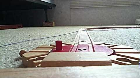 Thomas and Friends wooden railway review Thomas-0