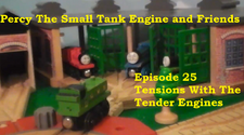 25. Tensions With The Tender Engies