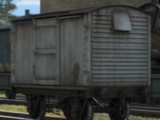 Furgonetas de 12 Toneladas del LNER