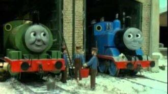 Thomas y sus amigos -una bufanda para percy