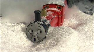 Thomas y sus amigos - Alcanzando a James