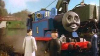 Thomas y sus amigos -una afeitada al ras para duck