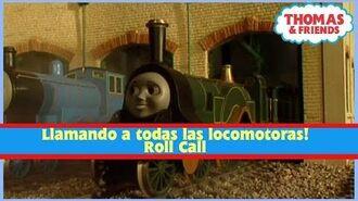 Llamando a todas las locomotoras! Engine Roll Call (Esp Latino) -Thomas y Sus Amigos-