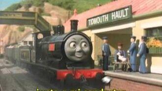 Thomas y sus amigos -el accidente de edward