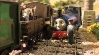 Thomas y sus amigos -un mal dia para sir handell
