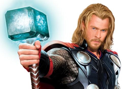 image chris hemsworth thor movie costume mjolnir hammer jpg thor