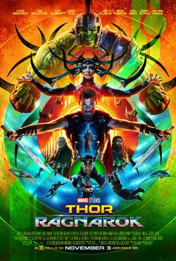 Thor- Ragnarok - Poster