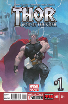 Thor god of thunder comic