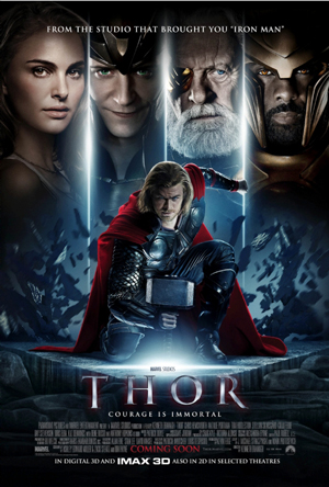 Image result for thor 2011 poster horizontal