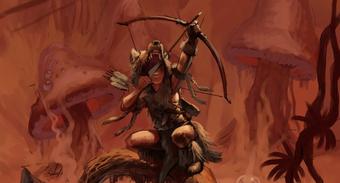 Odcięta dłoń boga Tyra - okładka - szkic