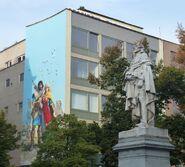 Fresque-murale-bruxelles-thorgal-bd-rosinski-complète