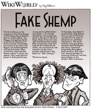 Fake Shemp comic