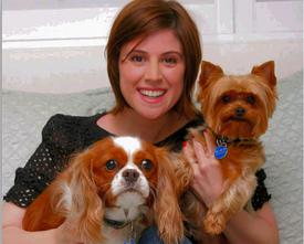 Melanie Paxson and pets