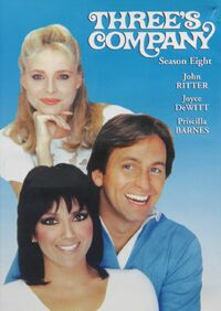 Three's Company Season 8 DVD cover