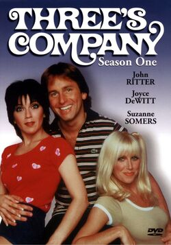 Three's Company Season 1 DVD cover