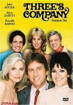 Three's Company Season 6 DVD cover