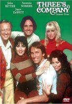 Three's Company Season 4 DVD cover