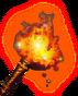 Aurora's flame